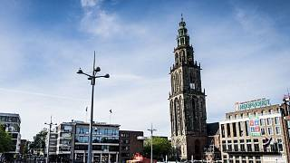 The incident took place at the reporter's home in Groningen.