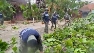 El Gobierno mexicano desplegó centenares de soldados del Ejército y marinos en el sureste del país