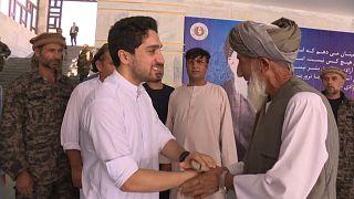 Ahmad Masud, hijo del comandante afgano asesinado en 2001, pide armas a Estados Unidos