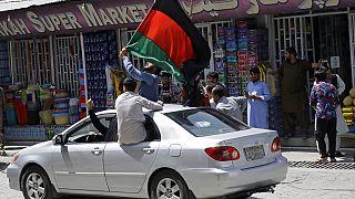 طالبان معترضان در کابل را با تیراندازی متفرق کرد
