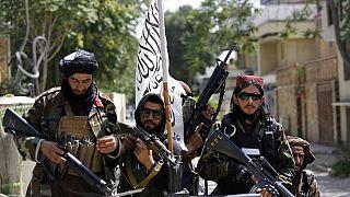 Taliban üyeleri Kabil'de