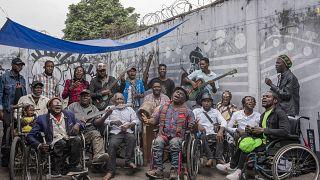 En RDC, des musiciens handicapés réclament le fruit de leur succès