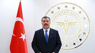 Sağlık Bakanı Fahrettin Koca Kabine Toplantısı sonrası gazetecilerin sorularını yanıtladı