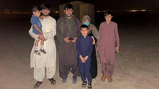 خالد به همراه همسر و چهار فرزندش توانست از دست نیروهای طالبان فرار کند
