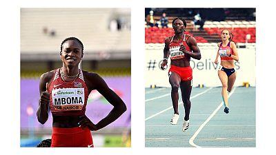 Les Namibiennes en finale des 200m aux Championnats du monde d'athlétisme