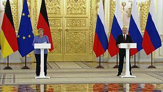 "Visita della Cancelliera Merkel a Mosca: ""Liberate Navalny"""