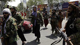 Taliban-Kämpfer in Kabul
