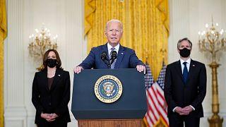 """Biden: """"Minden hazatérni akaró amerikait kimenekítünk Afganisztánból"""""""