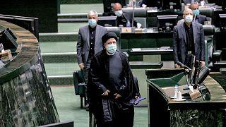 ابراهیم رئیسی در مجلس شورای اسلامی ایران