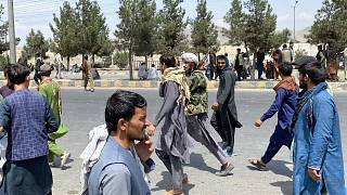 Afghan capital Kabul under Taliban rule