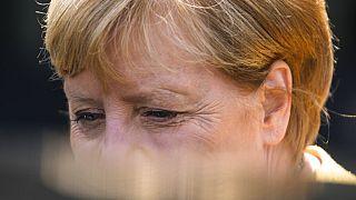 CDU-Wahlkampf mit Merkel und Söder: Laschet warnt vor Rot-Rot-Grün