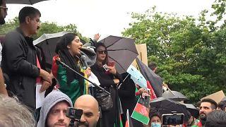 Manifestation anti-talibans à Londres : ils se mobilisent pour soutenir les Afghans