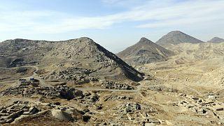A Mes Aynak völgy, 40 kilométerre Kabultól: kincseket rejt