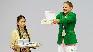پولینا گوریوا، نخستین مدالآور ترکمنستان در المپیک