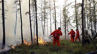 اعلام وضعیت اضطراری در روسیه در پی آتشسوزی گسترده جنگلهای ماریال