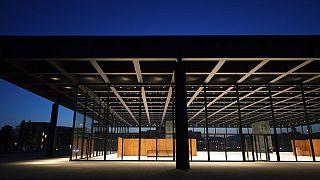 Die Neue Nationalgalerie in Berlin