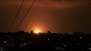 Israel bombardeia Faixa de Gaza