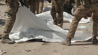 Sete civis afegãos mortos próximo ao aeroporto de Cabul