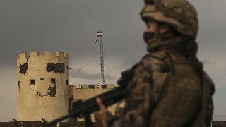 Türkiye-İran sınırında görev yapan asker