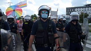 No comment: LGBT-tüntetések Lengyelországban
