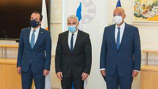 Οι ΥΠΕΞ της Κύπρου, του Ισραήλ και της Ελλάδας