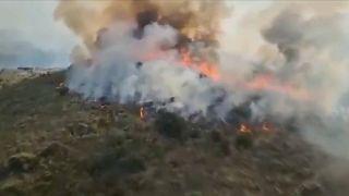 El gobierno español compensará a los afectados por los fuegos.