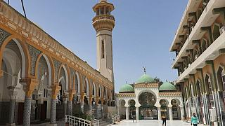 المسجد الصوفي في مدينة زليتن الساحلية بطرابلس-11 آب / أغسطس 2021
