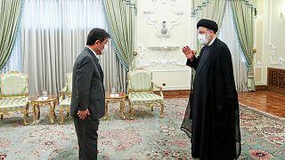دیدار وزیر خارجه ژاپن با ابراهیم رئیسی