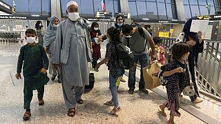 Οικογένειες Αφγανών έφτασαν στην Ουάσιγκτον