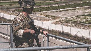 Ein Soldat im Einsatz
