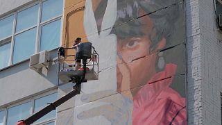 Festival anual de arte urbana em Ecaterimburgo