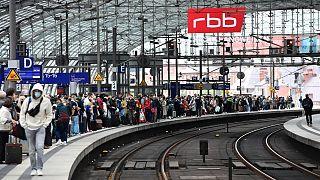 محطة السكك الحديدية الرئيسية في برلين/23 أغسطس 2021
