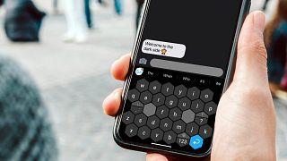 Le clavier ergonomique pour smartphone développé par la start-up suisse Typewise