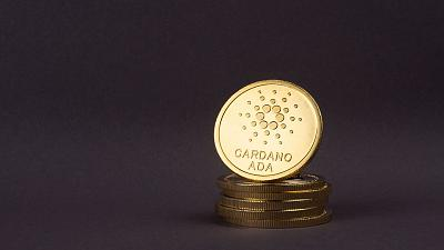 Golden Coin of Ada cryptocurrency, Cardano.