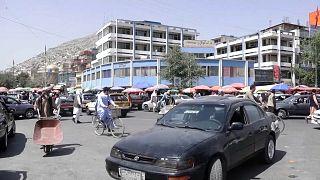 Calles de Kabul, Afganistán