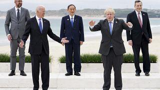 Összeülnek a G7-ek, Bidennek döntenie kell