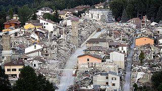 Aniversário do sismo de Amatrice