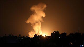 İsrail ordusu, abluka altındaki Gazze Şeridi'ne 3 hava saldırısı düzenledi