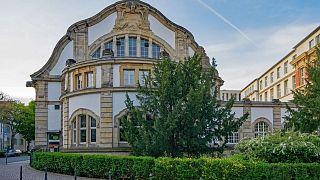 Gebäude der Technischen Unisersität Darmstadt -Symbolbild-
