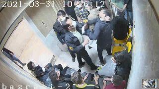 Evin hapishanesindeki kamera görüntüleri