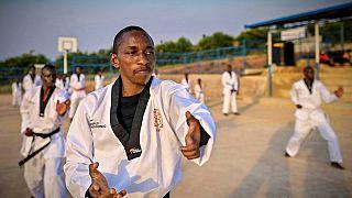 Parfait Hakizimana trouve refuge dans le taekwondo