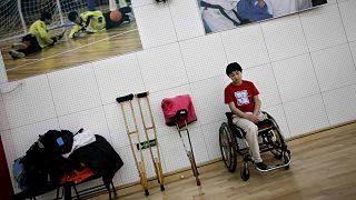 دورة الألعاب الأولمبية لذوي الاحتياجات الخاصة لعام 2008 في مركز التدريب المهني والرياضي للمعاقين في بكين