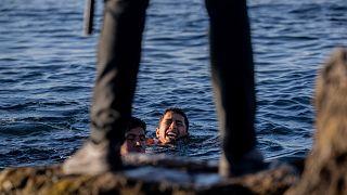 مرگ مهاجران در دریا