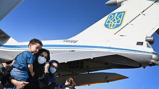 Ukrayna'nın Afganistan'daki tahliye uçuşları