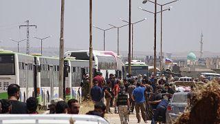 Suriye'nin Dera el-Beled ilçesi