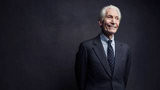 Charlie Watts, of the Rolling Stones, poses for a portrait on Nov. 14, 2016, in New York