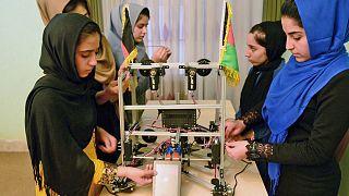 Afgan kız robot takımı