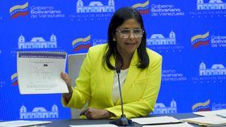 Relatório apresentado por Delcy Rodríguez