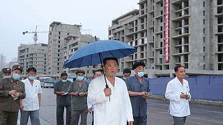 Neuere Fotos von Nordkoreas Machthaber Kim Jong Un