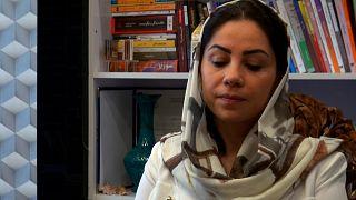 Afgan yazar Humeyra Kadiri euronews'e konuştu